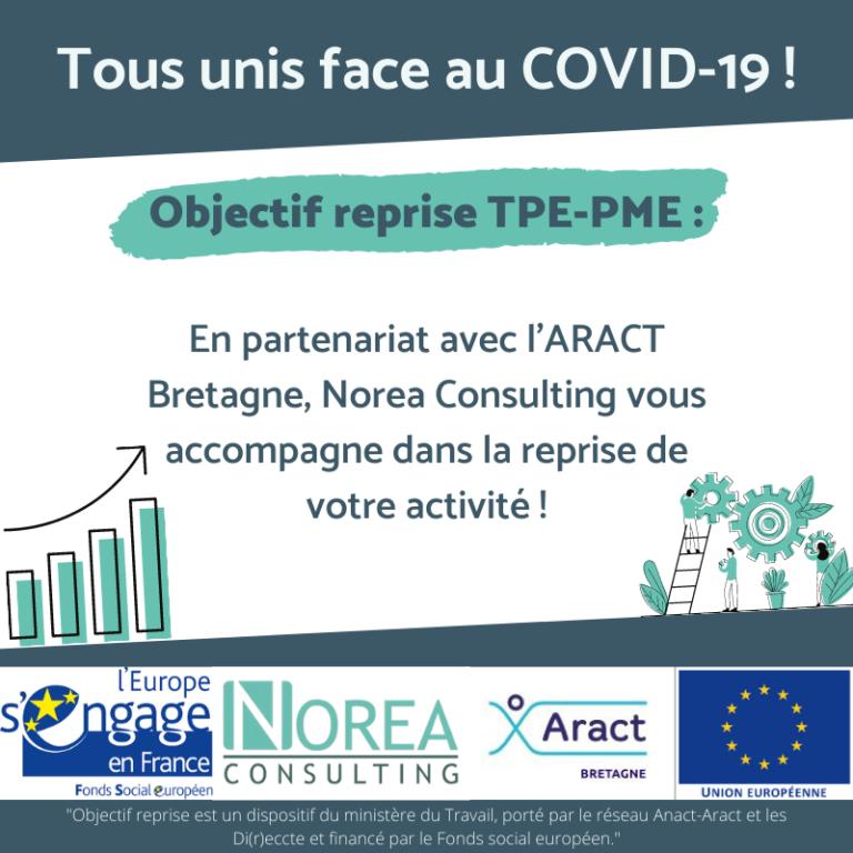 Norea Consulting vous accompagne dans le cadre du dispositif Objectif reprise TPE-PME