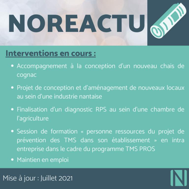 Noreactu Juillet 2021
